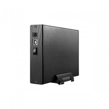 CASE HD 3,5 SATA EXTERNA USB SEM COOLER MULTILASER GA118