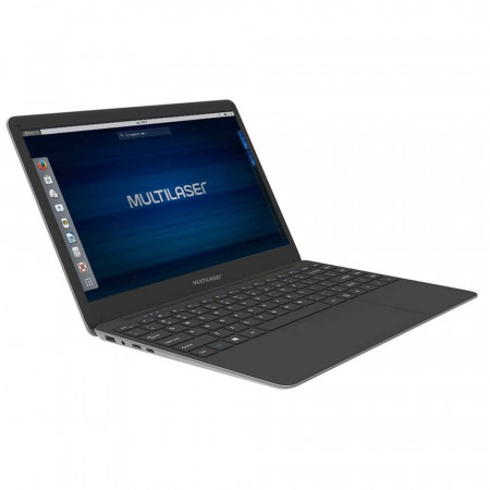 NOTEBOOK MULTILASER LEGACY BOOK PC231 INTEL DUAL 4GB 500GB 14.1' WIN 10 PRO CINZA